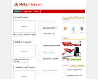 Mekanikci.com Yeni Arayüz ve Değişim